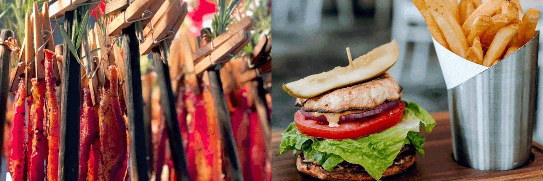 Bacon and a Burger